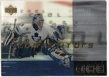 Curtis Joseph 2000-01 Upper Deck Ice Maple Leafs Cool Competition Insert #CC6
