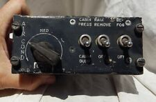 Usn F-8 Crusader Supersonic Fighter Pilots Air Conditioning Console Control