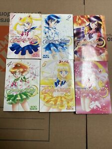 Sailor Moon PRETTY GUARDIAN Manga vol 1-6 Naoko Takeuchi English *READ*