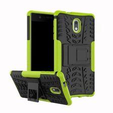 Etui Hybride 2 Pièces Extérieur Vert housse étui pour Nokia 2 étui de protection