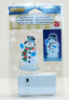Lemax 97532 Lighted Snowman Holiday Village Christmas Snow Winter Train Accent