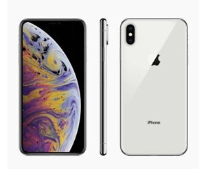 Iphone XS MAX 256GB silver In Amazing Condition No Marks On Screen Works Perfect