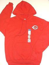 CINCINNATI REDS Hoodie, Hooded Sweatshirt, RED, Men's Small, MLB--FREE Shipping