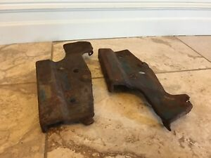 1966 Chevy Impala Outer Grill Mounting Brackets Belair Biscayne