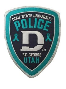 Dixie State University Police Sexual Assault Awareness Patch UT Utah