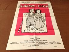1980 Charles & Lucie Original Movie House Full Sheet Poster