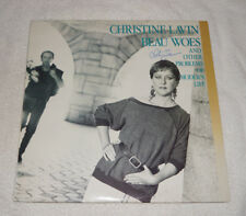 LP : Christine Lavin - Beau Woes and other problems (1986) signed