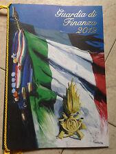 Calendario 2012 Guardia di Finanza GDF Forze Armate Esercito Militare Collezione