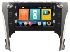 Car GPS Navigation DVD Radio Stereo Android 6.0 Wifi For Toyota Camry 2012-2014