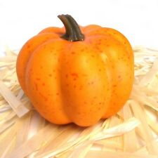 11cm Artificial Pumpkin  - Autumn / Halloween / Harvest Festival Decoration
