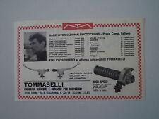 advertising Pubblicità 1970 COMANDI TOMMASELLI e EMILIO OSTORERO