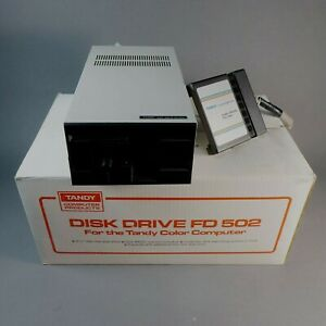 Tandy FD-502 External Computer DISK DRIVE with Box # 26-3133