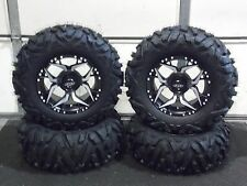"CAN AM DEFENDER XT  27"" QUADKING 14"" SHOCKER ATV TIRE & WHEEL KIT 518 BIGGHORN"