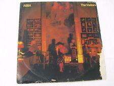 Abba The Visitors World LP Record India-1512