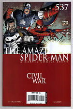 The Amazing Spider-Man 537 VFNM Civil War Tie In 1st Printing (a