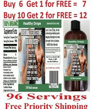 "LIPOSOMAL TESTOSTERONE LIBIDO BOOSTER LIQUID ""96 SERVINGS"" SOY FREE BOTTLE 16oz"