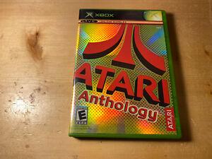 Atari Anthology Original Microsoft Xbox System Complete