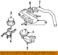 Lexus TOYOTA OEM 92-93 ES300-Egr Valve Gasket 2562862010