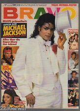 BRAVO 17 / 15.4.1992 / KISS, MICHAEL JACKSON /+NIRVANA+RICHARD GRIECO-PLAKATE