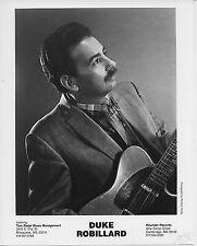 Duke Robillard Original b&w 8 x 10 Rounder Records Press Photo by Richard Hurley