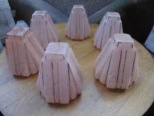 6 TULIPES ROSES + FILET ARGENT ART DECO
