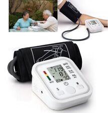 LCD Digital Arm Cuff Blood Pressure Monitor Heart Rate Beat Pulse Meter Measure