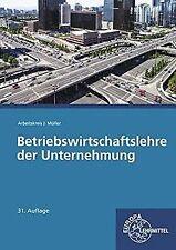 Betriebswirtschaftslehre der Unternehmung: ohne CD von F...   Buch   Zustand gut