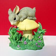 Charming Tails King Of The Mushroom Binkey Rabbit Bunny Figurine