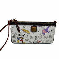 Dooney & Bourke Epcot Food & Wine Festival Wristlet Wallet Disney Mickey