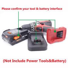 AEG&RIDGID 18V/20V (Max) Li-ion Battery To Milwaukee 18V Tools Batteries Adapter