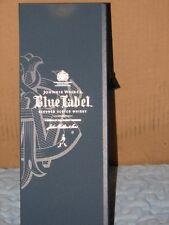 Johnnie Walker Blue Label Scotch Whiskey Empty Box Case 750 ml ~ FREE SHIPPING