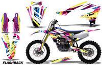 Dirt Bike Decal Graphics Kit MX Sticker Wrap For Yamaha YZ450F 2018+ FLASHBACK
