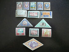 Stamps - Tannu Tuva - Scott# 15-28 - Tuva People's Republic