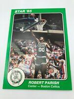 1984-85 Star 85 Supers Boston Celtics 5 x 7 #2 Robert Parish Basketball Card