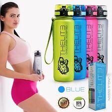 THELITE 1000ml Blau Best Sports Wasserflasche BPA-freie Trinkflaschen US Tritan