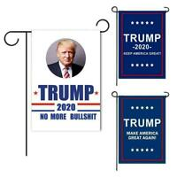 "12""x18"" Donald Trump Garden Flag Make America Great Again 2020 Banner 3 Colors"