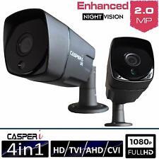 CCTV Bullet Camera 1080P HD Outdoor 95 Degree Wide Angle AHD TVI Night Vision IR