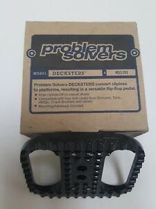 New Problem Solvers - Decksters - Convert Clipless Pedals to Platforms !!