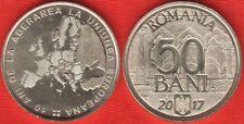 "Romania 50 bani 2017 ""European Union"" UNC"