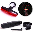 4 Modes Lamp Cycling Night Super Bright Red 5 LED Bike Bicycle Rear Tail Light
