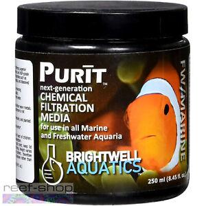 Brightwell Aquatics Purit 250mL Next Generation Chemical Filtration Media