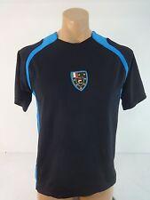Fila Sport Mens Turquoise Blue Athletic Shirt Jersey Size M
