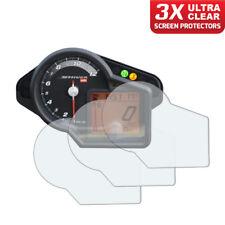 3 x Aprilia Shiver 750 Dashboard Screen Protectors: Ultra-Clear