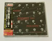 Arturo Toscanini SEALED BRAND NEW CD Brahms Sym. No.1 Hungarian NBC SO Japan Obi