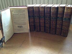1783, Nouveau dictionnaire historique-Chaudon-Grosley-Moysant-8/8-Histoire