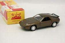 Solido Hachette 1/43 - Porsche 928 GT 1989 Marron