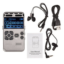 Professional Lcd Screen 8G Hd Digital Voice Audio Sound Recorder Mp3 W0R2