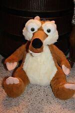 """Build A Bear Disney ICE AGE Crazy Funny Squirrel SCRAT Stuffed Plush 13""""  #W2"""