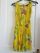 Yellow Floral dress 10