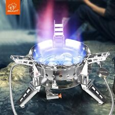 6800W High Power Foldable Gas Stove Outdoor Camping Burner Windproof Furnace B17